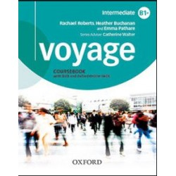 Voyage B1 Student's book workbook Oxford online skills program B1 with key
