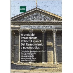 Historia del pensamiento político español. Del renacimiento a nuestros días