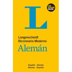 Diccionario moderno alemán-español español-alemán