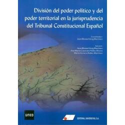 División del poder político y del poder territorial en la jurisprudencia del Tribunal Constitucional