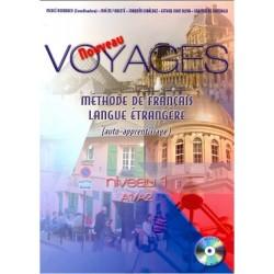 Nouveau voyages niveau I A1/A2. Méthode de français langue étrangère (auto-apprentissage)