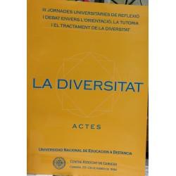 La diversitat. Actes II Jornades universitàries