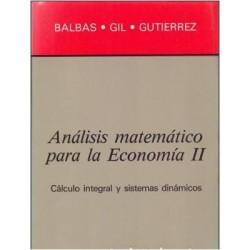 Análisis matemático para la Economía II