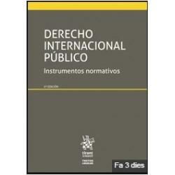 Derecho internacional público Instrumentos normativos